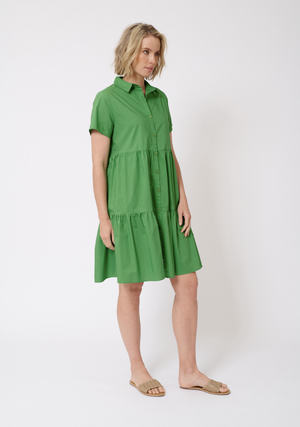 HAZEL DRESS - EMERALD