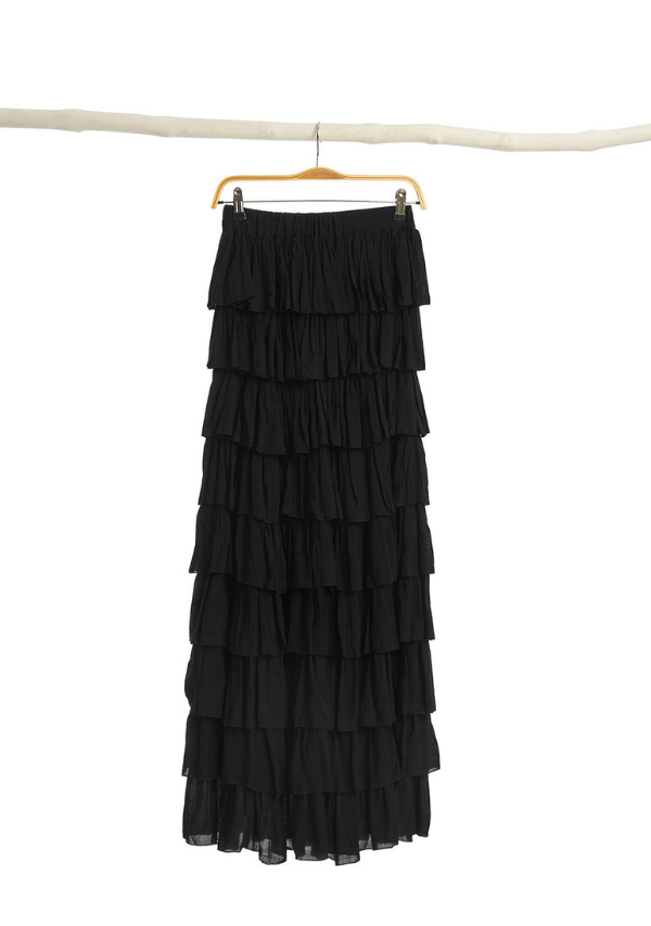 BAHAMA DRESS - BLACK