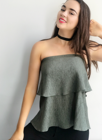 My Way Strapless Top