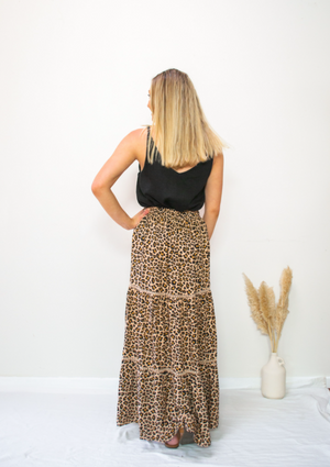 Into The Wild Leopard Skirt