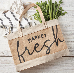 MINI MARKET TOTE - MARKET FRESH