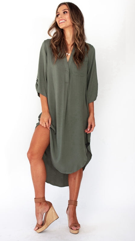 Tessa Shirt Dress