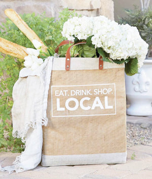 MARKET TOTE - ALL THINGS LOCAL