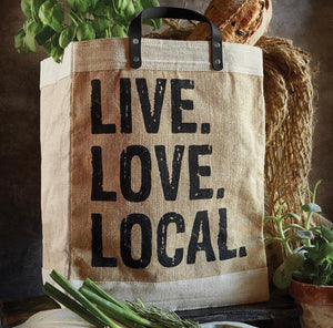 Market Tote - Live Love Local