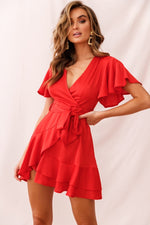 Alexis Dress in Red