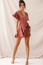 Alexis Dress in Rose