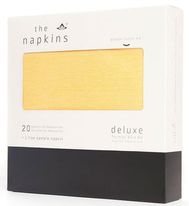 Deluxe Classic Dinner Napkin - Dark Yellow