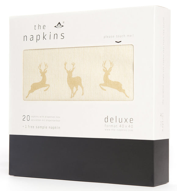 Special Edition  Champagne Holiday Deer - 20 pc Gift Box