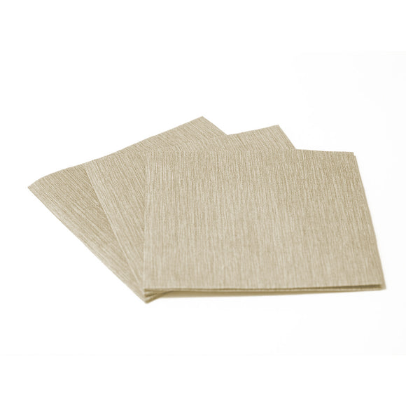 Deluxe Cocktail Napkin Taupe