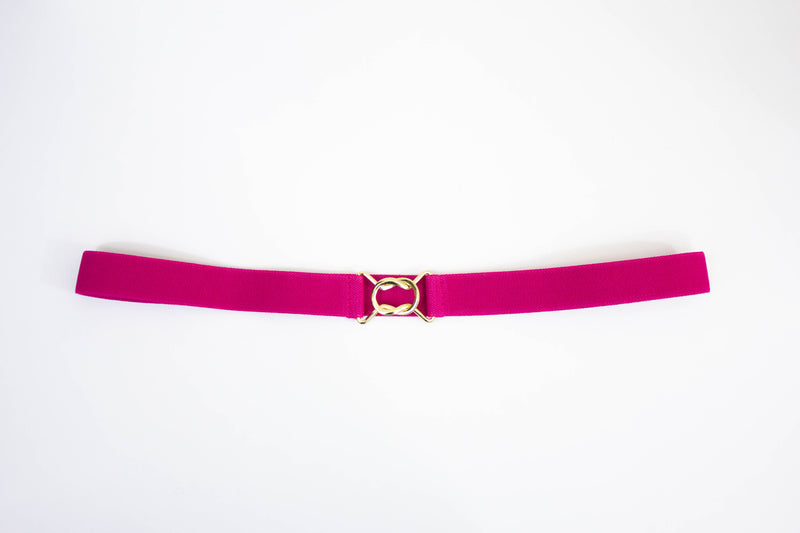 "1"" fuschia pink belt"