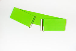 "3"" apple green belt"