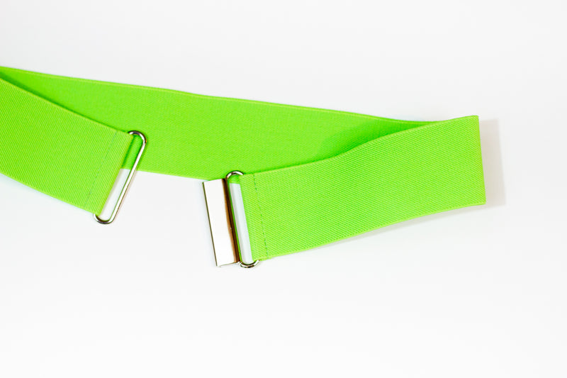 "2"" apple green belt"