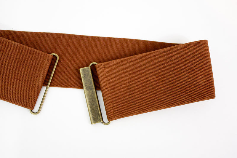 "3"" cinnamon brown belt"