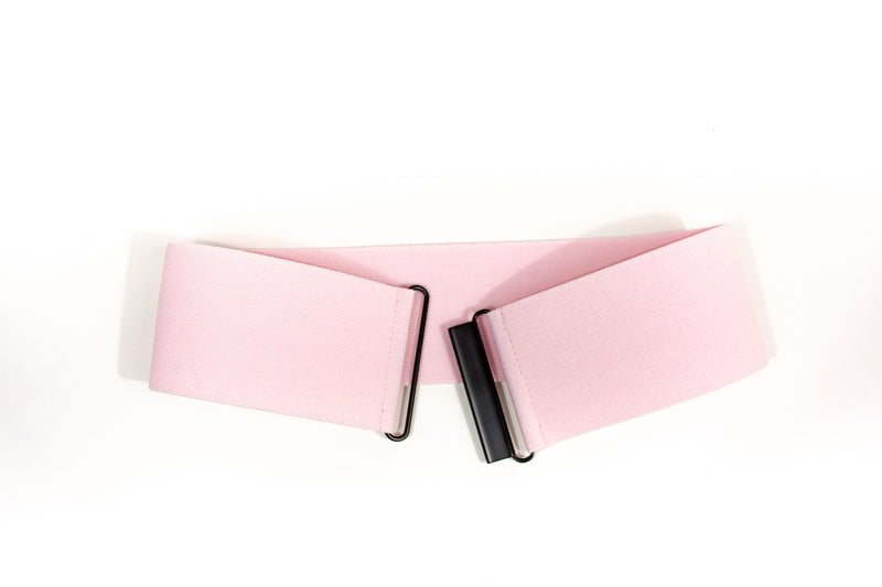 Women's 3 inch light pink belt by Cinched Apparel