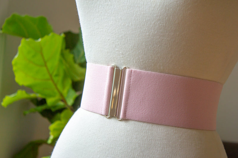 "3"" light pink belt"
