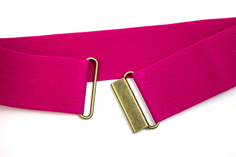 "2"" fuschia pink belt"