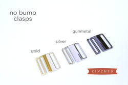 Women's no bump belt clasps by Cinched Apparel