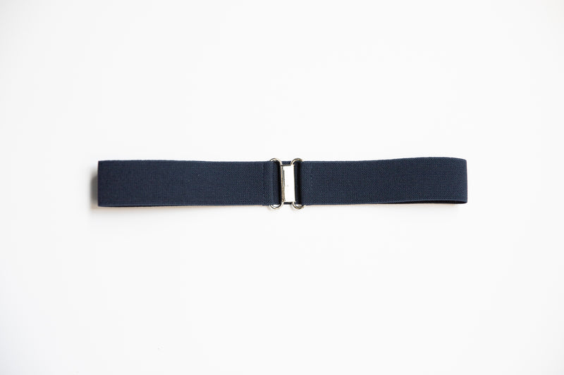 "1.5"" navy blue belt"