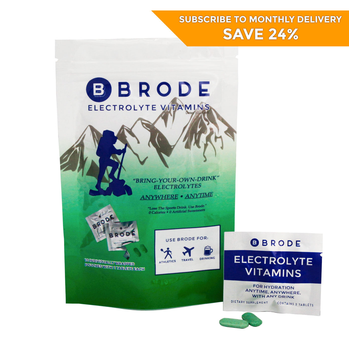 Bag of Brodes (10 pouch pack)