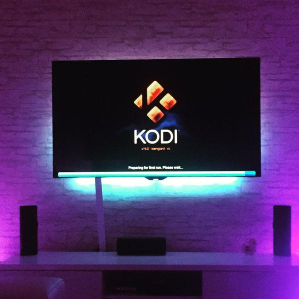 Smart Lighting Control with Kodi