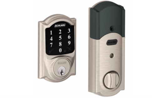 Schlage Connect Camelot Touchscreen Deadbolt Just Got Real High Tech