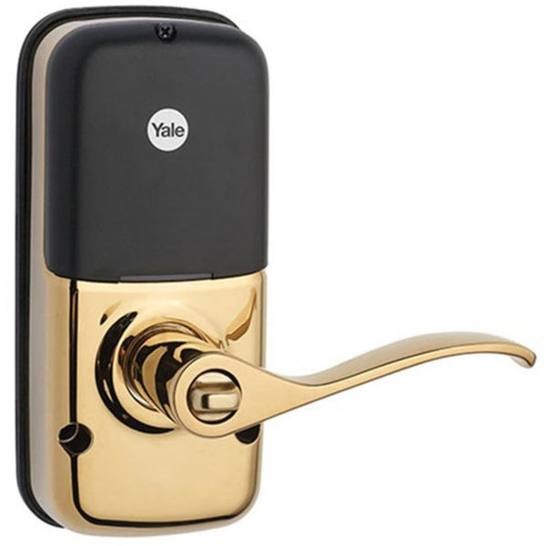Yale Z Wave Touchscreen Lever Smart Lock