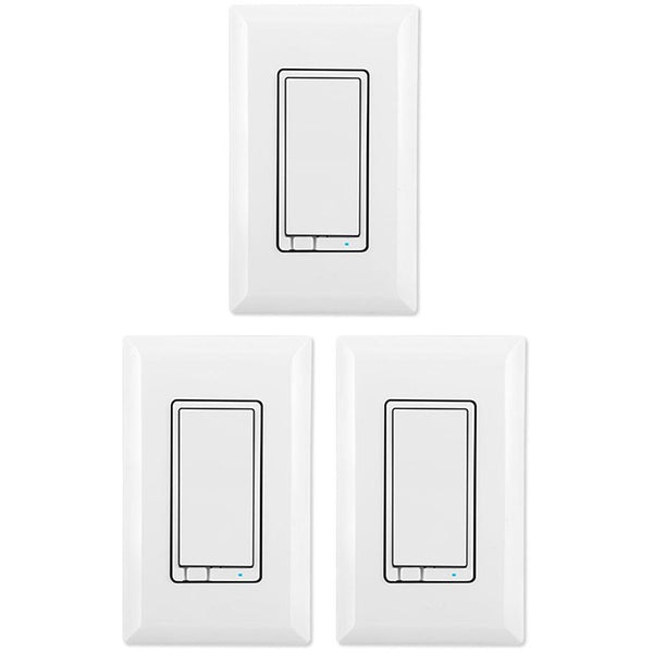 Ge Z Wave Plus Dimmer Lighting Control Wall Switch Multipack