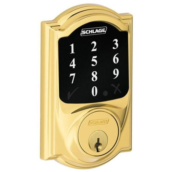 Schlage Connect Z-Wave Touchscreen Deadbolt Smart Lock