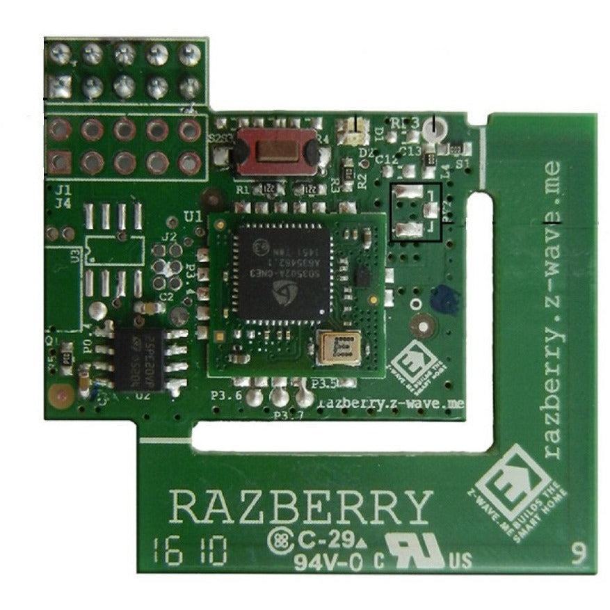 Raspberry Pi Z-Wave Plus Daughter Card RaZberry2 by ZWave Me