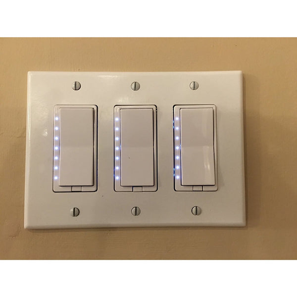 Zwp Z Wave Plus In Wall Multi Level Light Dimmer Instant