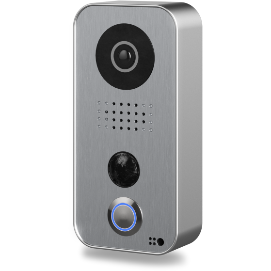 DoorBird WiFi Video Doorbell D101S Strato-Silver