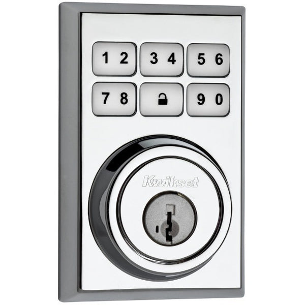Kwikset Smartcode 910 Z Wave Lock Contemporary Deadbolt