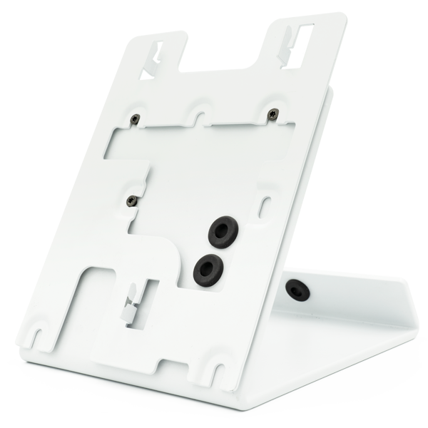 DoorBird Table Stand A8003 for IP Video Indoor Station A1101, white powder-coated