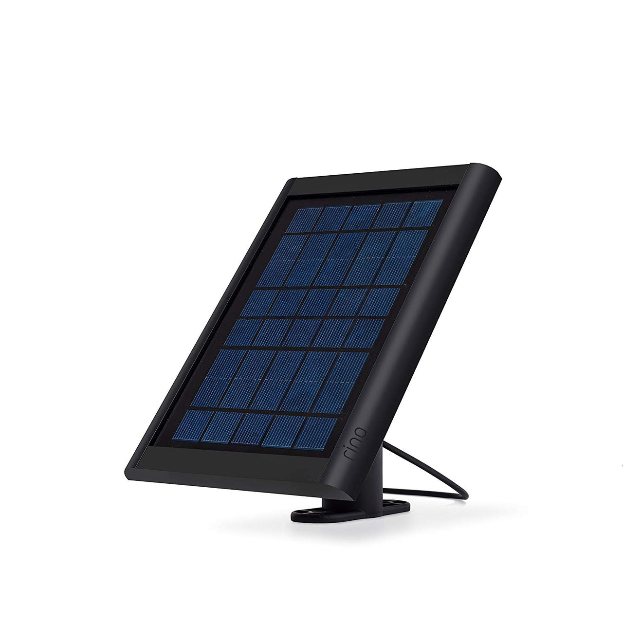 Ring Solar Panel Black - Compatible with Ring Spotlight Cam Battery and Stick Up Cam Battery