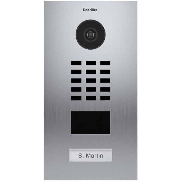 DoorBird IP Video Door Station Flush-Mounted, POE Capable