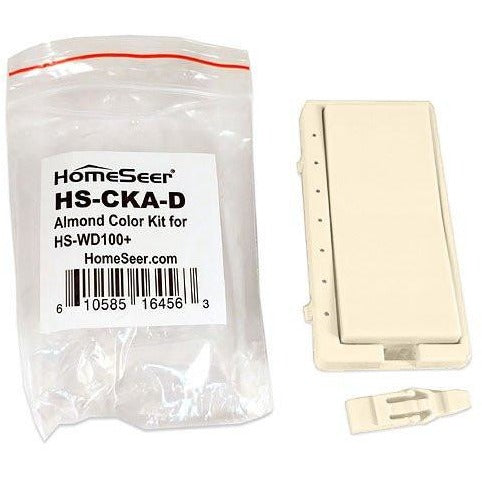 HomeSeer Almond Color Change Kit for HS-WD100+ Wall Dimmer