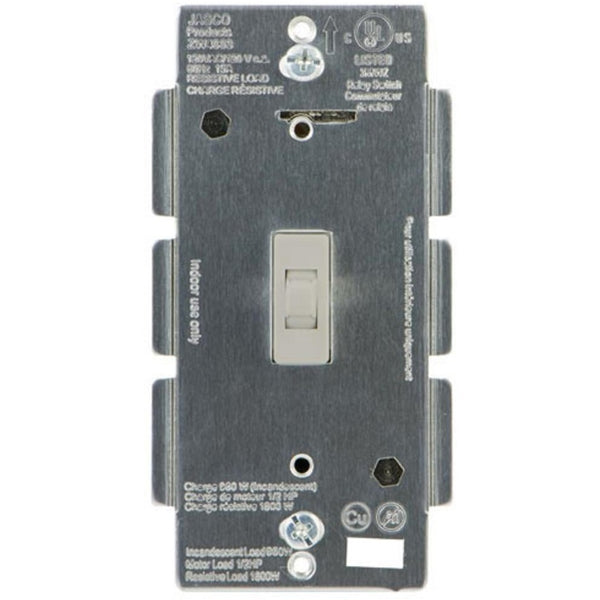 Ge Z Wave Dimmer Wall Toggle Switch No Neutral Required