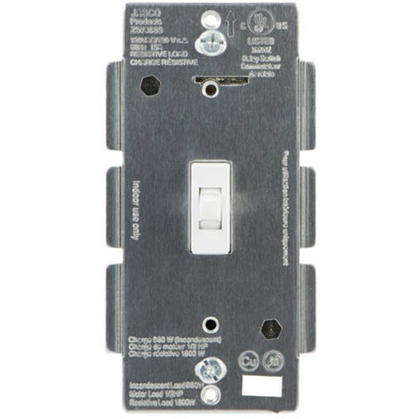 GE Z-Wave Dimmer Wall Toggle Switch, No Neutral Required White or Light Almond
