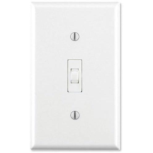 GE Z-Wave On/Off Wall Toggle Switch White or Light Almond
