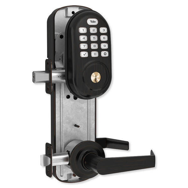 Yale Z-Wave Assure Interconnected Lockset With Push Button Deadbolt, Right or Left Handed