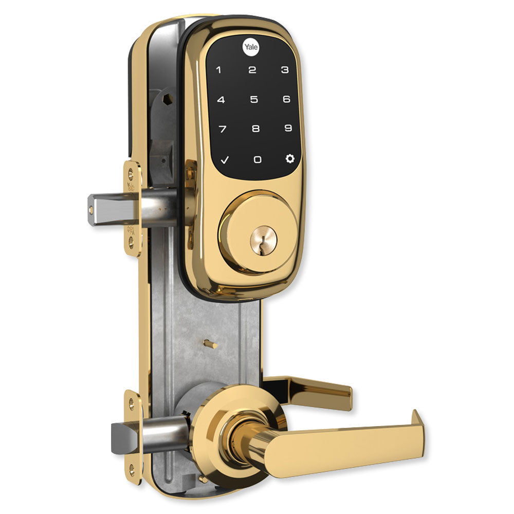 Yale Z-Wave Assure Interconnected Lockset With Touchscreen Deadbolt, Right or Left Handed