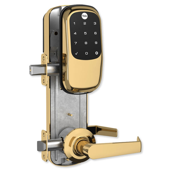 Yale Z-Wave Assure Interconnected Lockset With Key-Free Touchscreen Deadbolt, Right or Left Handed