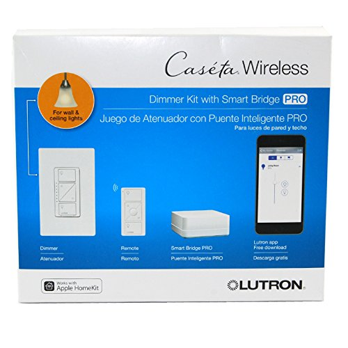 Lutron P Bdgpro Pkg1w Wireless Dimmer Pro Kit With Smart