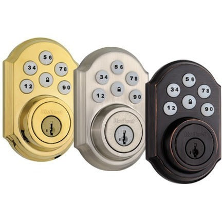 Kwikset SmartCode 910 Z-Wave Traditional Deadbolt Lock with Home Connect