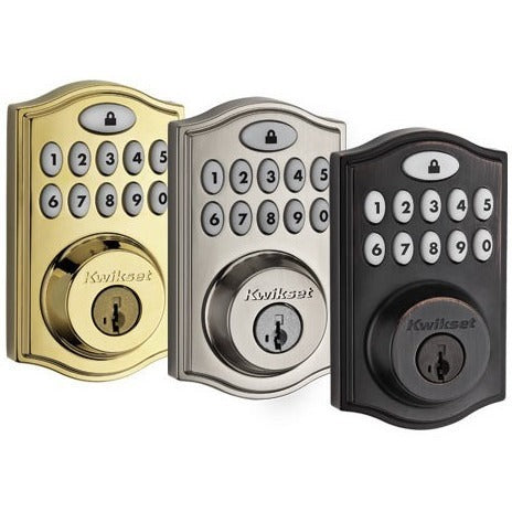Kwikset SmartCode 914 Z-Wave Deadbolt with Home Connect