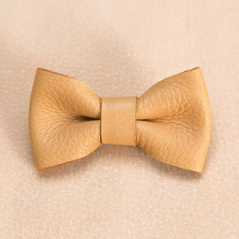 Bow Tie Collection - Camel