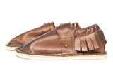 Adult Moccasin - Studded Strap