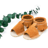 Esther Sandal - Moab Suede