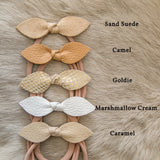 Knotted Leaf Headbands - 20+ Colors to Choose From