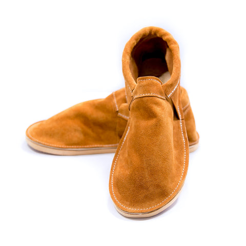 Adult Moccasin - Classic (Fringeless) - Moab Suede
